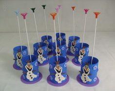 Lembrancinha e Centro de mesa - Frozen