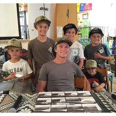 Mark Healey in house!!! Get here!!! Hobie San Clemente!!! Here till 8pm! Depactus came hard with the swag, don't miss out!! @donkeyshow @depactus @_gavinharris_ @gannonsteimle @miles_harris05 #hobiesurfshop #depactus #markhealey #sanclemente