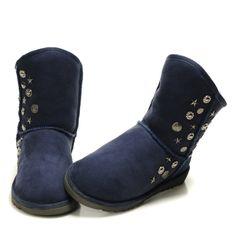 UGG Boots 5829 Navyblue AAA
