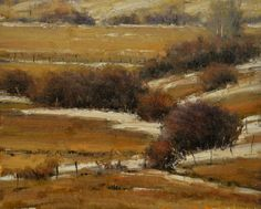 """""""Willow Patterns,"""" by Dan Young, oil, 8 x 10 in."""