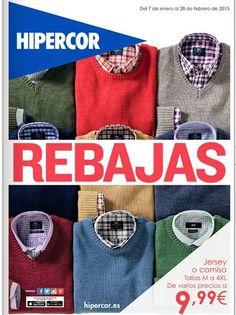 Jersey o Camisas de Hipercor ENE-FEB 2015. CatalogosD · Rebajas 987d1be0a52d9