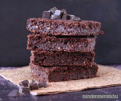Mindenmentes brownie: cukor-, glutén-, tejtermék- és tojásmentes, vegán recept  mindenmentes.hu