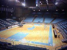Carmichael Arena-home of the Lady Tar Heel basketball team, volleyball, wrestling, etc.  It was also the home of the 1982 NCAA CHAMPION Men's Basketball team (Michael Jordan, Sam Perkins)