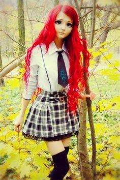 10 Photos Of Real Life Anime Girl Will Blow Your Mind | Anastasiya Shpagina Ukraine