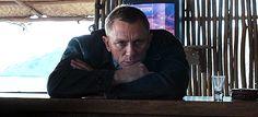 """Skyfall – Bond """"Enjoying Death"""" in Exile Estilo James Bond, James Bond Style, Craig Bond, Daniel Craig James Bond, Daniel Graig, Best Bond, Favorite Movie Quotes, Rachel Weisz, Skyfall"""