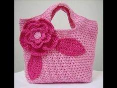 How to: Crochet (A PURSE - HANDBAG) #TUTORIAL #99 - YouTube