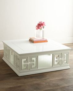 Radcliffe Coffee Table by Jonathan Adler at Horchow. 42 inches square; $1989