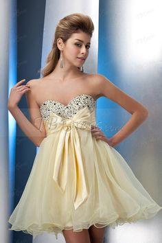 Elegant A-Line Sweetheart Short Sweet Sixteen Dress