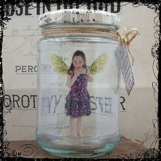 BOTTLE A LOVED ONE Bespoke Captured Fairy Jars - Great Birthday Gifts £20.00