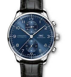 The Portugieser is one of the oldest and best-known watches from IWC. Discover the iconic design of IWC's Portugieser watches and find your timepiece here. Elegant Watches, Beautiful Watches, Patek Philippe, Sport Watches, Cool Watches, Dream Watches, Timex Watches, Analog Watches, Swiss Army Watches