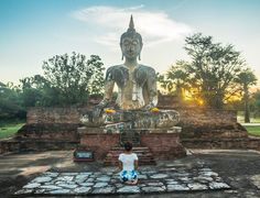 Land of beautiful ancient ruins is Thailand