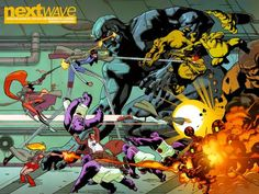 Stuart Immonen: Nextwave #11 (2006)