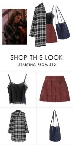 """""""Twin Peaks/Shelly Johnson inspired"""" by softgrrrl ❤ liked on Polyvore featuring Isa Arfen, DKNY, twinpeaks, laurapalmer and shellyjohnson"""