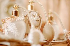 There were pretty perfume bottles like these at Anthropologie several weeks ago. lovely.