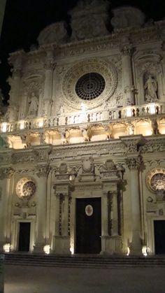 Santa Croce church, Lecce, Salento, Puglia, Italy