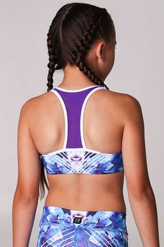 Vintage Hot Pink Sports Bra Laguf Gym Workout Crop Top Small Stretch Dancewear Modern Pullover Crisscross Back Strap Ballet Jazz Solid Color
