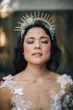 Bridal crown -Erika Layne Photography