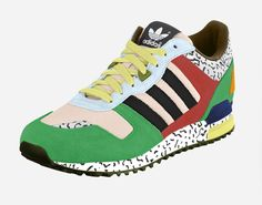 Tino Seubert Sotsass sneaker project. I am getting the felt tips out to try this one at home.