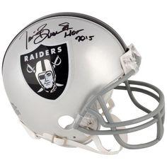 Tim Brown Oakland Raiders Fanatics Authentic Autographed Riddell Mini Helmet with HOF 2015 Inscription - $179.99