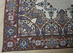 Cross Stitching, Cross Stitch Embroidery, Cross Stitch Patterns, Animal Design, Persian Rug, Blackwork, Needlepoint, Bohemian Rug, Carpet