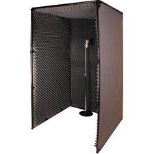 mobile soundproof walls | Portable Sound Booths Portable Sound Booths & Acc. at Markertek.com