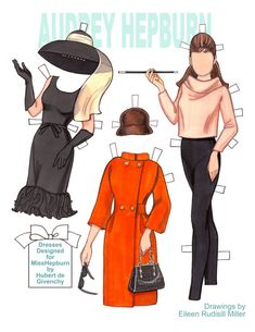Beautifully designed and rendered paper doll printed on 8.5x11 card stock. Doll and 6 costumes on 3 sheets.