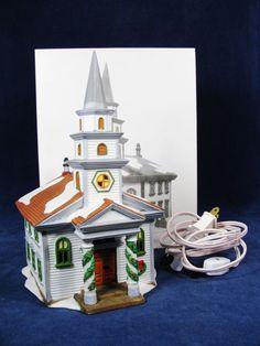 Department 56 Arlington Falls Church New England Heritage Village Orig Box #5651 #Department56