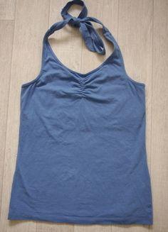 À vendre sur #vintedfrance ! http://www.vinted.fr/mode-femmes/dos-nu/23654662-top-dos-nu-bleu-esprit