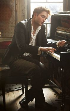 Top of my list sexiest trait is a man who can play the piano...you don't get any better than that :)