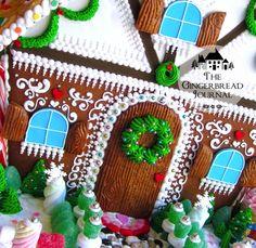 gingerbread house Christmas D-15wm