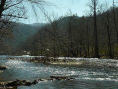 Rivière en Caroline du Sud