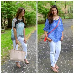 #CAbi –Breezy blouses for those warmer months! Click to see how blogger Betty Galvan wears them.