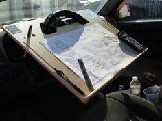 ipad Car laptop tablet notepad Contractor Steering Wheel  C Desk vehicle tray | Computers/Tablets & Networking, Laptop & Desktop Accessories, Stands, Holders & Car Mounts | eBay!