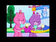 """Care Bears Welcome to Care A Lot  Iron On Transfer 5 /""""x7.25/"""" for LIGHT Fabric"""