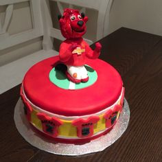Manchester United - Fred the Red - Red Devil - Cake