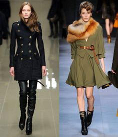 Military fashion: women's military clothing trend