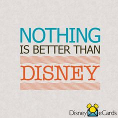 Except maybe Disney WITH your family!