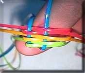 Starting a SuperBrick Stitch! Lanyard Tutorial, Macrame Tutorial, Bracelet Tutorial, Tutorial Crochet, Lanyard Crafts, Lanyard Keychain, Keychains, Gimp Bracelets, Friendship Bracelets