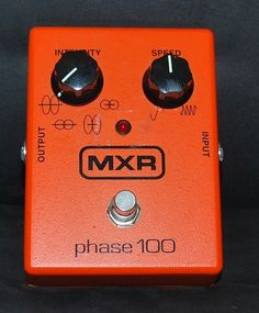 I've got an old Phase 90, but the 100 gives you some extra toys to play with.  Dunlop MXR Phase 100 M107 Phaser Guitar Effect Pedal