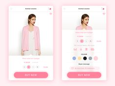 Product details page is where users most frequently concern, the creative concept is based on the color of the product system automatic coloring, in a more emotional design integration into user in...
