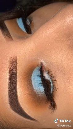 Doll Eye Makeup, Edgy Makeup, Makeup Eye Looks, Dark Skin Makeup, Eye Makeup Art, Eyeshadow Makeup, Natural Makeup, Hair Makeup, Makeup Videos