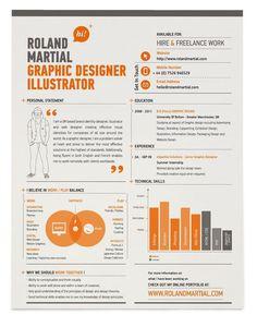 30 Amazingly Creative Examples of Designer Resumes