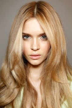 long straight runway hair - Google Search