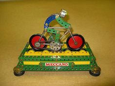 Meccano Pedalling Pete, by Graham Jost