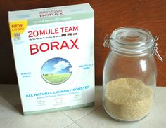 Ant killer:  The recipe is so simple.  - 1 cup of water  - 2 cups of sugar  - 2 T of Borax powder
