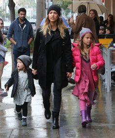 Jessica Alba Photos: Jessica Alba Takes Her Girls Shopping For Toys