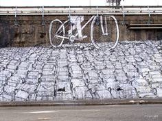Blu, Bikes Crushing Cars, Milan - unurth | street art