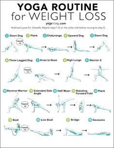 yoga routine Lose weight and boost your metabolism with this simple 15 minute routine any beginner can do. Fitness Workouts, Yoga Fitness, Sport Fitness, At Home Workouts, Short Workouts, Exercise Workouts, Exercise Equipment, Yoga For Toning, Yoga Moves