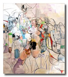 Rush Hour by George Condo, 2010 #metmuseum