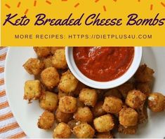Description: These breaded cheese bombs are extremely tasty and worth to try to eat them! Low Carb Dinner Recipes, Keto Recipes, Healthy Recipes, Drink Recipes, Stuffed Jalapenos With Bacon, Stuffed Peppers, Cheese Bombs, Keto Cheese, Low Carb Side Dishes